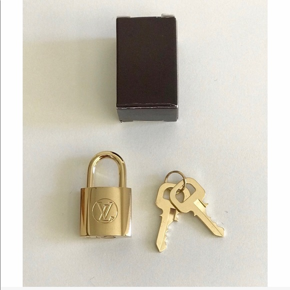 Louis Vuitton Other - NEW Authentic Louis Vuitton Padlock and 2 Key Set